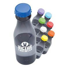 These retro polypropylene water bottles put a fun twist on promotional drinkware. Starting at $2.49 each.