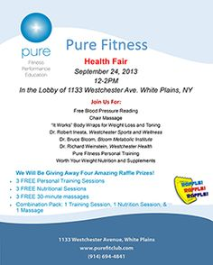 Come to our health fair on Sept Health Fair, Sports Nutrition, Weight Loss, Pure Products, Losing Weight, Sports Food, Loosing Weight, Loose Weight