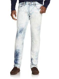 Ralph Lauren Varick Slim Straight Leg Jeans   Pants, Clothing and Workwear