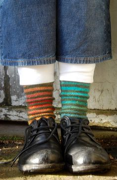 This would be HOT in the new sock yarns!!!
