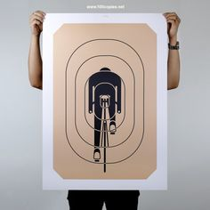 Items similar to Poster - Aim For Glory on Etsy Design Poster, Graphic Design, Grid Design, Best For Last, Bicycle Art, Bicycle Store, Modern Crafts, Cycling Art, Art Day
