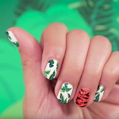 The Jungle Book Nail Art