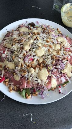 Salate roast beef