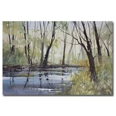 Trademark Fine Art Tranquility Canvas Wall Art | null