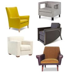 Modern Club Chairs Invite Everyone to Hang Out - WSJ