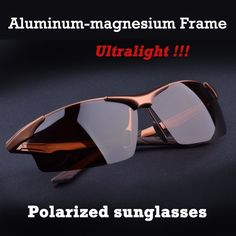 """HOT PRICES FROM ALI - Buy """"Hot Aluminum magnesium alloy men's polarized sunglasses driving mirror glasses male goggles eyewear fashion driving sunglasses"""" from category """"Men's Clothing & Accessories"""" for only USD. Hd Sunglasses, Mirrored Sunglasses, Cartier Sunglasses, Luxury Sunglasses, Sports Sunglasses, Pilot Glasses, Polarized Glasses, Eyewear, Models"""