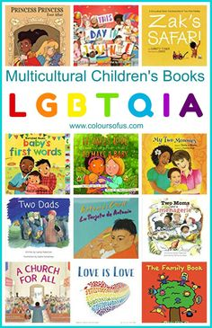 Multicultural Children's Books featuring LGBTQIA Characters