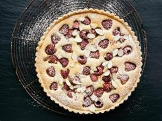 Get Raspberry Frangipane Tart Recipe from Food Network