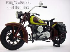 Indian Chief Motorcycle 1/12 Scale Model by NewRay