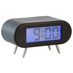 23757Alarm clock BipBip black 2xAA incl.