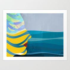By The Sea Art Print by John Murphy - $18.00