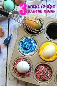 √ Coloring Easter Eggs with toddlers. 9 Coloring Easter Eggs with toddlers. 3 Ways to Dye Easter Eggs with toddlers and Preschoolers A Easter Egg Dye, Coloring Easter Eggs, Hoppy Easter, Easter Eggs In Movies, Easter Crafts For Kids, Egg Decorating, Easter Recipes, Toddler Preschool, Toddlers