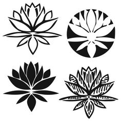 The Crafter S Work 12 X Doodling Templates Lotus Blossom