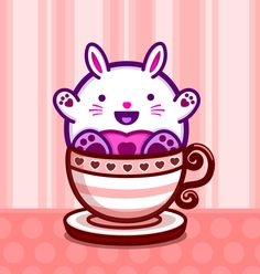 Tiny Bunny! ^.^ Tiny Bunny, Hello Kitty, Friends, Illustration, Character, Art, Craft Art, Boyfriends, Illustrations