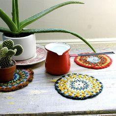 #flickr, ethanollie, crochet, coasters
