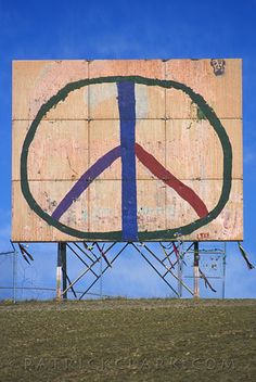 peace, waterworks hill, missoula #montana #signs
