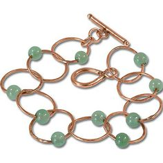 Jewelry Tutorial: Aventurine Bracelet | Jewelry Ideas | Rings & Things