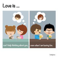 #loveis #thinkingofyou