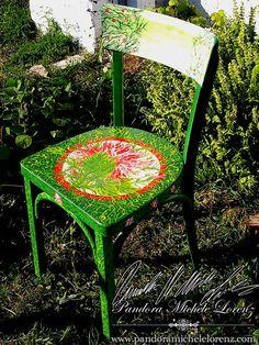 Antike, kunstvolle Wohneinrichtungskreationen & Lifestyle Artikel! Shabby Chic, Vintage Dekorationselemente & wunderschön per handbemalte Antiquitäten & Einrichtungsgegenstände! Speziell verwendete hochwertige Farben sind stoß- und schlagfest, blockfest, licht- und wetterbeständig für In- & Outdoor! Dining Chairs, Shabby, Outdoor, Vintage, Home Decor, Art, Antiquities, Colors, Decorations