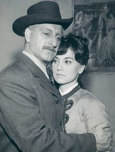 Danny and daughter Marlo Thomas from the television show Zane Grey Theatre.