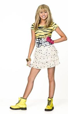 "Miley Cyrus' ""Hannah Montana"" rocks a new look this season."