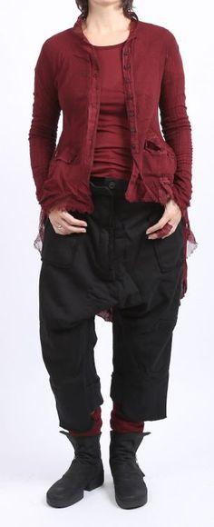 rundholz dip - Hose mit einer Hose Sweater black - Winter 2016 - stilecht - mode für frauen mit format...