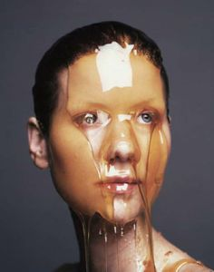 Dinner Plate Portraits - Photographer Marcel Van Der Vlugt Puts Food on Faces… Art Photography, Fashion Photography, Photography Sketchbook, Conceptual Photography, Show Beauty, Erwin Olaf, Photo Series, Marcel, Portrait Photographers