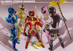 COMM: Olympic Strike Ranger by PeaceGuy