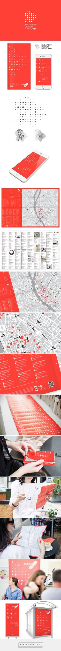 Budapest Design Map, 2016 on Behance