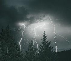 Lightning Sky Print