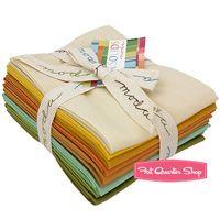 Warm Pastels Bella Solids Charm Pack SKU# 9900PP-24 - Fat Quarter Shop
