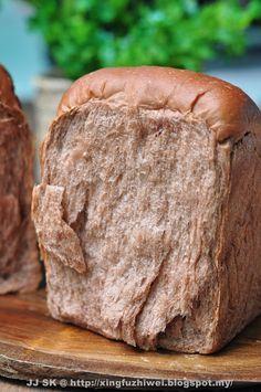 可可葡萄干软吐司 (一次发酵法) Cocoa Raisin Toast (Just Once Fermentation)