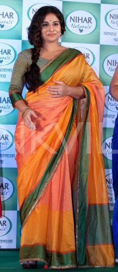 Vidya Balan Is A Sight To Behold In This Gorgeous Saree! | PINKVILLA