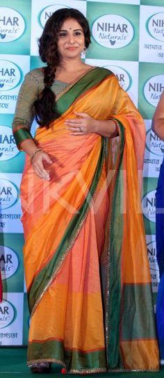 Vidya Balan Is A Sight To Behold In This Gorgeous Saree! | PINKVILLA