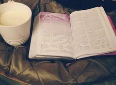 Eggnog & scripture ❤️