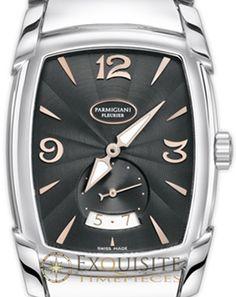 Parmigiani Fleurier Kalparisma Steel Black PFC124-0001401-B00002