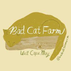 Cat Farm, Bad Cats, Cape May, Fun, Movie Posters, Design, Fin Fun, Film Poster, Popcorn Posters