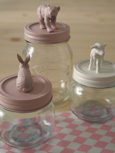 Customized #mason #jars by Celestine et cie: http://celestineetcie.canalblog.com/archives/p10-10.html