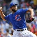 Arrieta's bid for 2nd straight no-hitter ends on 5th pitch (Yahoo Sports)