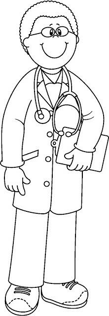 Dr Colouring Pages, Coloring Sheets, Coloring Books, Teaching Kids To Write, Kindergarten Drawing, Community Helpers Preschool, Preschool Prep, Daycare Games, Free Prints