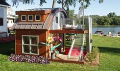 Extreme Kids Playhouses at WomansDay.com - Outside Playhouses for Kids - Woman's Day #outsideplayhouse