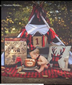 More in my web site (notitle) Half Birthday. Baby Boy First Birthday, Boy Birthday Parties, 2nd Birthday, Baby Boy 1st Birthday Party, Boys First Birthday Party Ideas, Lumberjack Birthday Party, Lumberjack Cake, Photo Bb, Kelsey Rose