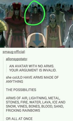 STOP. THIS. NONSENSE. SHE. HAS. ARMS. how blind are you to see. look more closely..