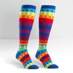 Kaleidoscope Knee Highs