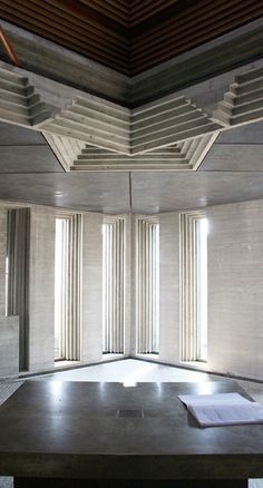Carlo Scarpa like how the architecture is playing with the sunlight. this is what i meant when i said cutouts in underpass Carlo Scarpa, Architecture Design, Sustainable Architecture, Contemporary Architecture, Ancient Architecture, Architecture Colleges, System Architecture, Religious Architecture, Landscape Architecture