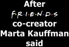 "☕ FRIENDS Co-Creator Marta Kauffman 🕶 Said ""A Reunion"" Ain't Happening...❕ ❔ ❗ ❓ 🗱 🗣🗲★🕵🗱 🗣🗲 #tvshows #TvStars #Comedy #TvComedies #ChandlerBing #JoeyTribbiani #RossGeller #RachelGreen #MonicaGeller #ChandlerAndMonica #RossAndRachel #JoeyAndChandler #PhoebeBuffay#MattLeBlanc #MatthewPerry #DavidSchwimmer #JenniferAniston #CourteneyCox #LisaKudrow f • r • i • e • n • d • s ❥ ツ ღ 🕶"