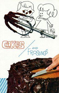 Awesome illustration from vintage cookbook!