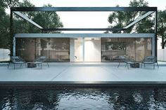 100 Ultra Modern Home Designs - From Entirely Transparent Homes to 'Star Wars' Vehicle H (TOPLIST)