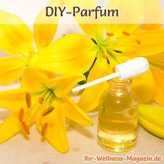Eigenes Parfum selber mischen - Parfum Rezept: Sinnlich liebliches Parfum mit Lilien-Duft