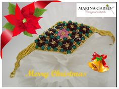 Congratulations to  #MarinaGarbo for the Facebook December 14, 2015 Design of the Week! #diyjewelrymaking #facebookdesignoftheweek  #jewelrymaking #beading